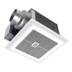 Panasonic 0.3 Sones 110-CFM White Bathroom Fan ENERGY STAR