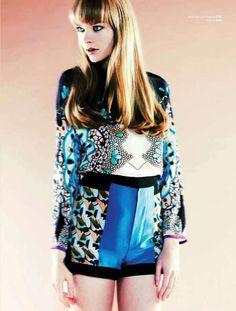 Love a great print mashup! #bold #fashionforward