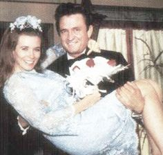 Johnny and June. I stepped into a Burning Ring of Fire. A great couple.