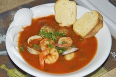 Shrimp and Clam Cioppino | Flying on Jess Fuel