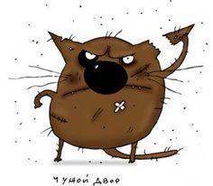 картинки нарисованные смешные кошки