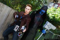 Star-Lord and Ronan the Accuser   Emerald City Comicon 2016 #DTJAAAAM