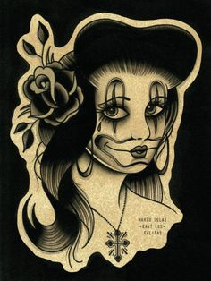 One thing I learned being born and raised in LA is you don't always get what you give, so choose your friends wisely. After all Satan was once an Angel! Arte Cholo, Cholo Art, Chicanas Tattoo, Inca Tattoo, Skull Tattoo Design, Tattoo Design Drawings, Chola Girl, Mexican Art Tattoos, Chicano Love