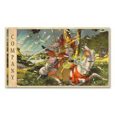 Nitta Yoshisada legendary samurai warrior battle Business Card Template