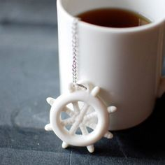 Steep your favourite calming tea with the help of this treasure trove of ceramic charm. Available a Ships Wheel, Lifesaver, Seagull and of course an Anchor, these tea infusers will help any landlubber get a hold of their sea-legs.