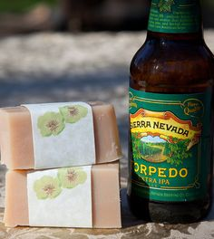 Agave Lime Beer Soap by beersuds on Etsy