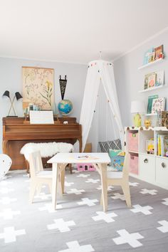neutral shared playroom ideas   Lay Baby Lay   Bloglovin'