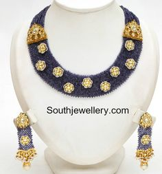 Floral Beads Necklace Set photo