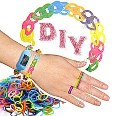 Funny Colorful Loom DIY Band Rubber Ring Rubber Band Bracelet Gadget TDS-269730