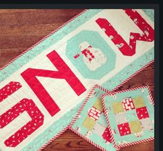 This is part of Lori Holts sew along for her Christmas Quilt from her book Quilty Fun.