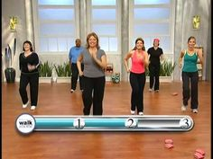 Walk away the pounds with Leslie Sansone - 3 Mile Weight Loss Walk (+pla...