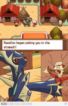 If pokemon was more realistic.