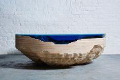 Abbys Horizon table by Duffy London » Retail Design Blog