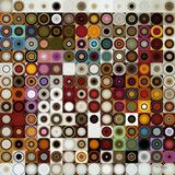 Circles and Squares #3. Modern Fine Art