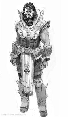 Alex Pascenko - Character Design Page