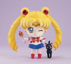 Sailor Moon Petit Chara Deluxe Figure, planned release late Sep. 2015, preorder June