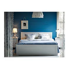 BRUSALI Bettgestell mit 4 Schubladen - 140x200 cm, - - IKEA