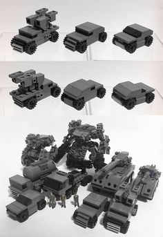 Zizy Lego vehicles