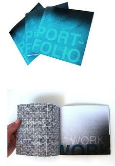 Great Idea for a printed portfolio