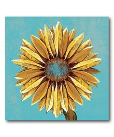 Take a look at this Sunflower Wrapped Canvas today! Canvas Fabric, Canvas Wall Art, Canvas Prints, Nature Scenes, Orange, World Cultures, Abstract Landscape, Painting Prints, Wrapped Canvas