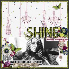 Live A Life That Lights You Up - Scrapbook.com
