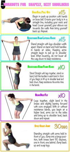 Image result for shoulder workouts for women