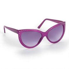 Jessica Simpson Retro Cat Eye Sunglasses.