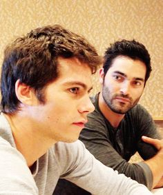 I just want a lover to look at me the way Tyler Hoechlin looks at Dylan O'Brien