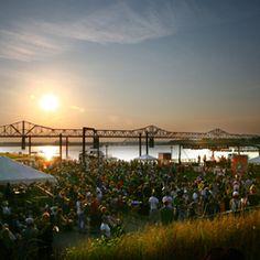 WFPK Waterfront Wednesdays..Louisville Ky