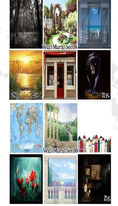 OBJnoora :: Wall Murals Set 08