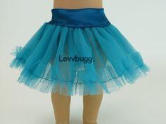 "Blue Tutu Crinoline Slip Tulle Tutu Skirt Clothes for 18"" American Girl Doll Wow | Dolls & Bears, Dolls, Clothes & Accessories | eBay!"