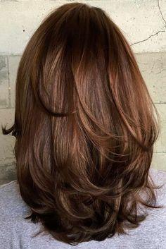 Medium Layered Haircut For Thick Hair hair styles 80 Sensational Medium Length Haircuts for Thick Hair Haircut For Thick Hair, Thin Hair, Straight Hair, Haircut Layers, Haircut Short, Shoulder Hair, Brunette Shoulder Length Hair, Medium Hair Cuts, Hair Layers Medium