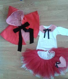 disfraz de caperucita Roja. by tetieros