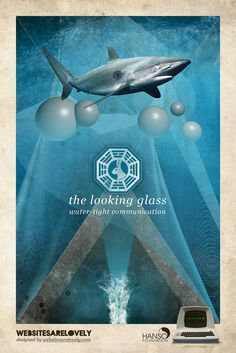 LOST DHARMA Initiative stations posters (5)