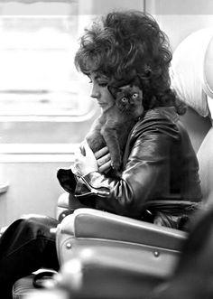 Elizabeth Taylor fotografiada por Daniel Angeli, 1971