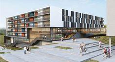 Escritórios Hereñú + Ferreni e Arquitetos Associados vencem concursos para edifícios residenciais da Unifesp, em São Paulo. - Revista Arq&Design - Arquitetura, Decorações, Design e muito mais