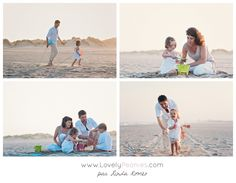 Séance photo en famille à la plage - www.lovelypeonies.com - Wedding and Family photographer in Montreal and France