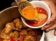 Here is a step-by-step version of this delicious Kashmiri 'classic' rogan josh recipe. For a one page summary, click rogan josh recipe. For this recipe I use: 1 kg diced goat on the bone First of a...