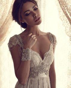 Vestidos de noiva Anna Campbell Design