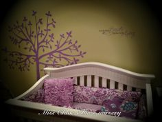 Fun nursery idea....Uppercase Living tree and saying..so sweet! https://www.facebook.com/pages/Uppercase-Living-Independent-Demonstrator-Sheila-Gebhardt/128090360567225