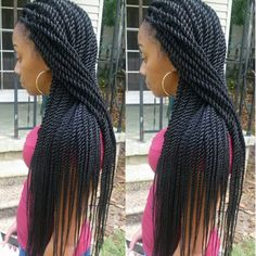 Rope Twists Senegalese Braidsbyguvia Hair And Beauty Pinterest Twist Style Black S Hairstyles
