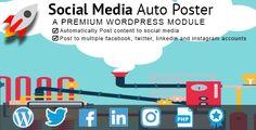 Social Media Auto poster v4.02 – WordPress Plugin