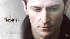 Lucas North. Richard Armitage.
