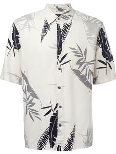 DIESEL Palm Print Shirt. #diesel #cloth #shirt