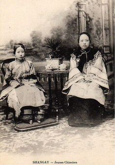 Young ladies of noble birth with bound feet sitting in chairs. Women of noble birth all had their feet bound, while only the eldest female child from a poor family had her feet bound. (Sarah Partridge Digital Archive) - See more at: http://www.visiontimes.com/2013/07/23/rare-photographs-of-chinese-foot-binding-from-the-1800s.html