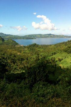 Hills near Savusavu during waterfall hike from Koro Sun | photo by Ann Kerr