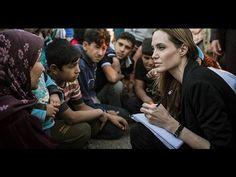 Η Αντζελίνα Τζολί στην Ελλάδα: Με ανθρωπιά και συμπόνοια - YouTube