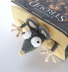 Horgolt könyvjelző egerek - patkányok fonalból ( amigurumi ) / Mindy -  kreatív ötletek és dekorációk minden napra
