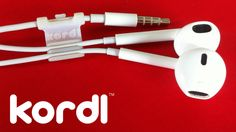 Kordl 2 -- Never wrap or untangle your earbuds again! Available NOW on Kickstarter!