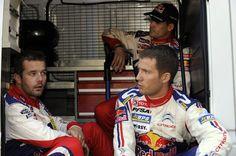 Sebastien Loeb and Sebastien Ogier Photo - Rally of France - Leg 3